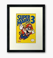 Super Mario Bros. 3 Re-Colored  Framed Print