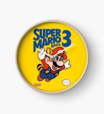 Super Mario Bros. 3 Re-Colored  Clock