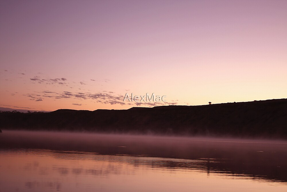 Dawn On The River by AlexMac