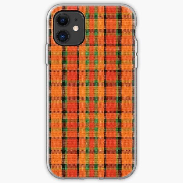 Westy Tartan Orange   Bulli Boys iPhone Soft Case