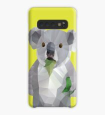 Koala with Koalafication Polygon Art Case/Skin for Samsung Galaxy