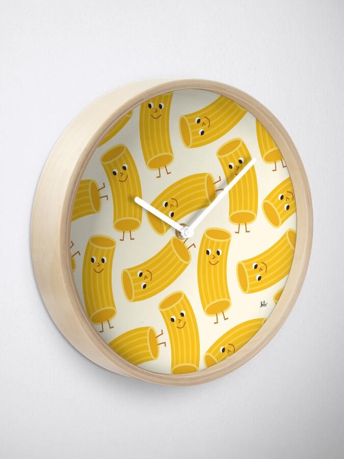 Alternate view of RIGATONI Clock