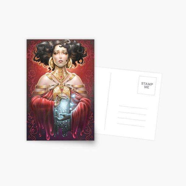 Bess Houdini - Nouveau original story Postcard
