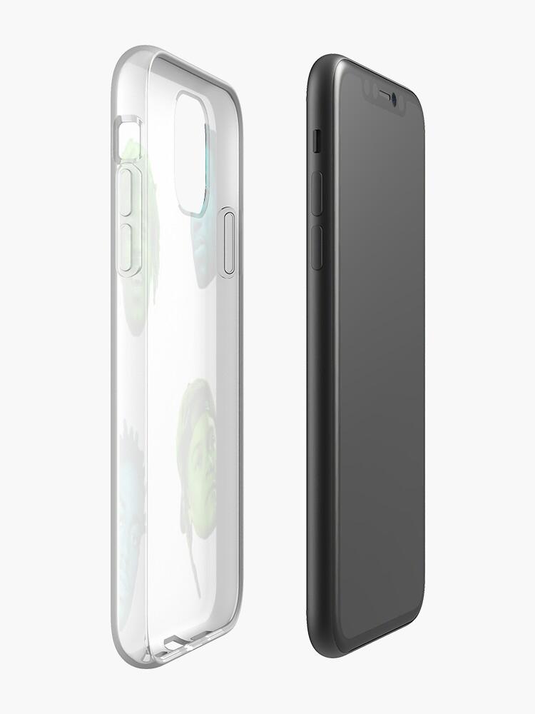 Coque iPhone «Jeune Gucci Kodak Vert», par newhuman