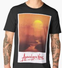 APOCALYPSE NOW, Movie, Film, OLD Poster, ON BLACK Men's Premium T-Shirt