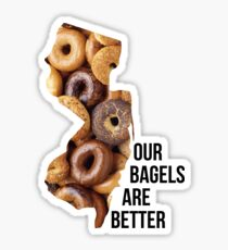 New Jersey Bagels are Better Sticker