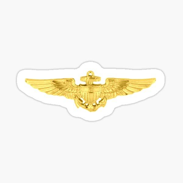 USMC. Aviation Insignia, Naval Aviator, Badge. Sticker
