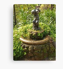 Fitzroy Fountain - 2 Canvas Print