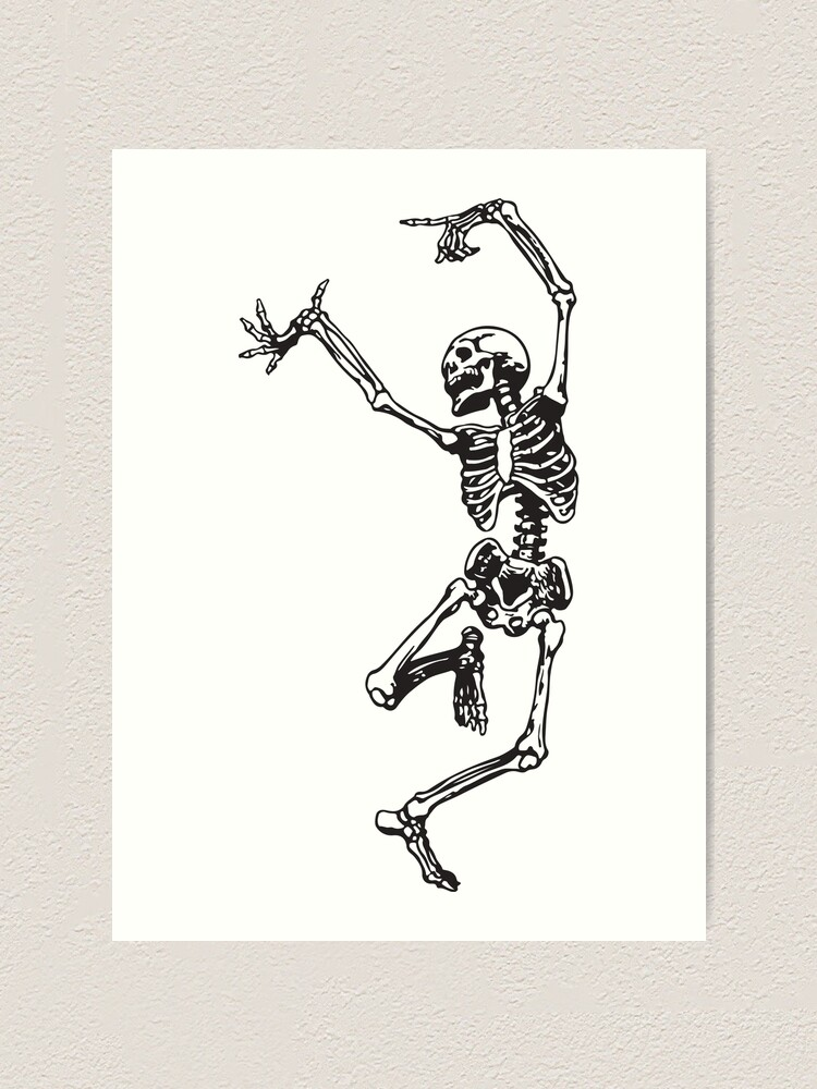 Alternate view of Dance With Death Art Print