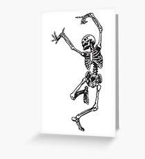 Tarjeta de felicitación Bailar con la muerte