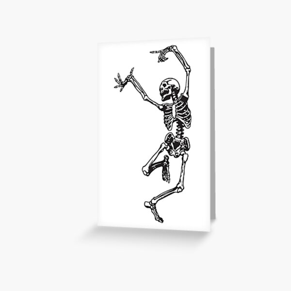 Dance With Death Greeting Card