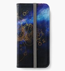 Time Lord Writing (blue) iPhone Wallet/Case/Skin