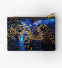Time Lord Writing (blue) Studio Pouch