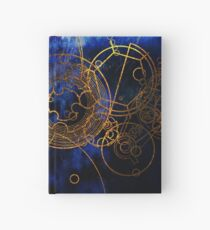 Time Lord Writing (blue) Hardcover Journal