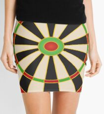 Darts board Mini Skirt