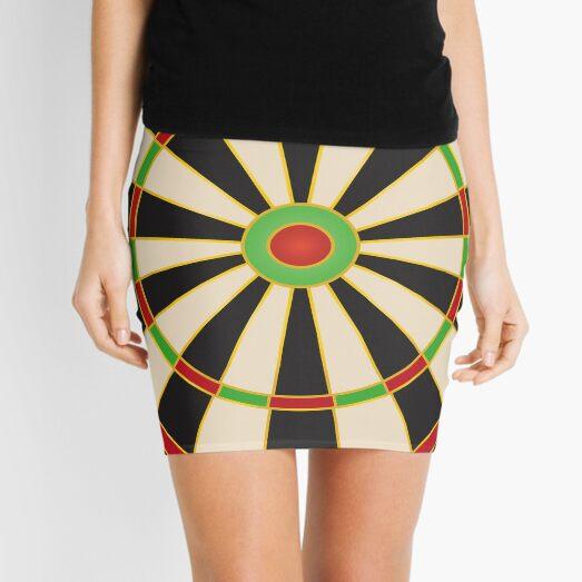 Darts board Mini Skirt