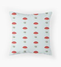Fly Agaric (without smiley face) Floor Pillow