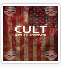 Vote Kai Anderson. Sticker