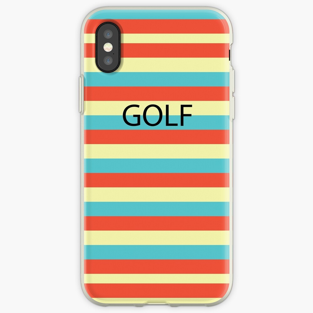 GOLF WANG iPhone-Hülle & Cover
