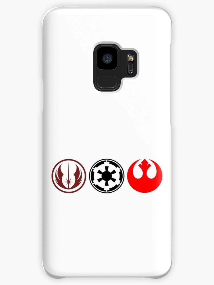 Star Wars Rebel Jedi And Empire Symbols Cases Skins For