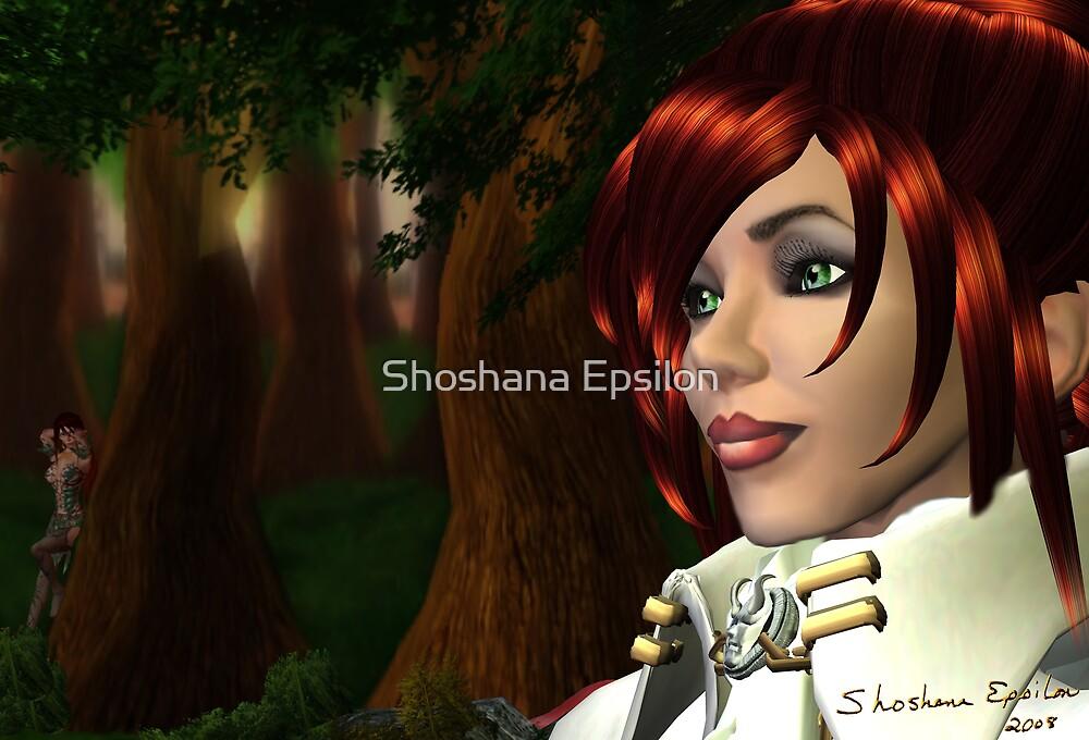 The Watcher is Watched by Shoshana Epsilon