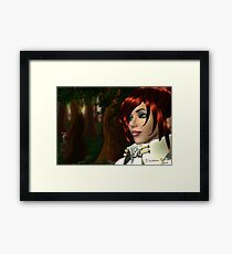 The Watcher is Watched Framed Print