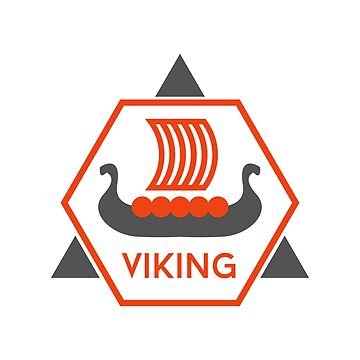 Viking Ship Symbol by Krukowski