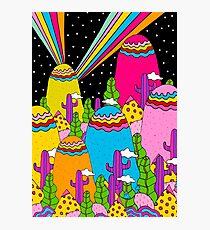 Night Sky Rainbow Photographic Print