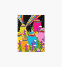 Night Sky Rainbow Art Board