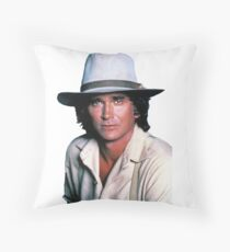 Michael Landon Throw Pillow