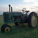 Old John Deere by Glenna Walker