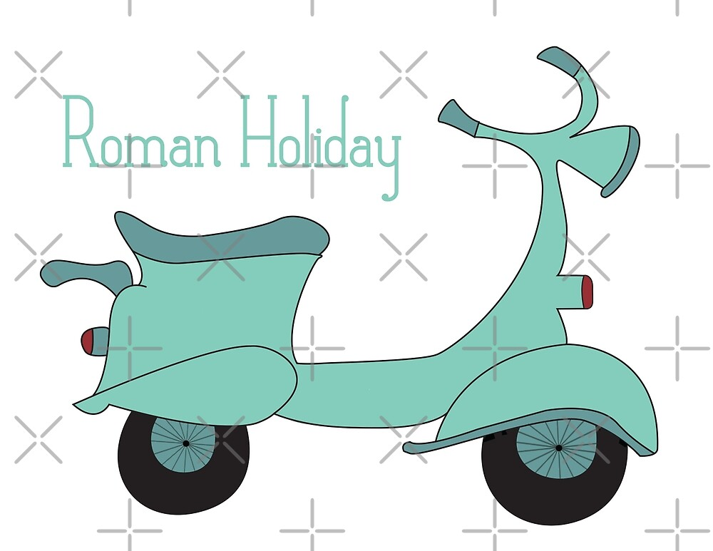 Roman Holiday  by HalamoDesigns