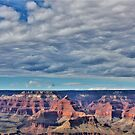 Grand Canyon sky by Norma  Ledesma