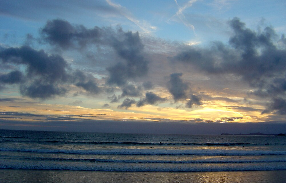 Sunset, Pembrokeshire in Wales by mojgan