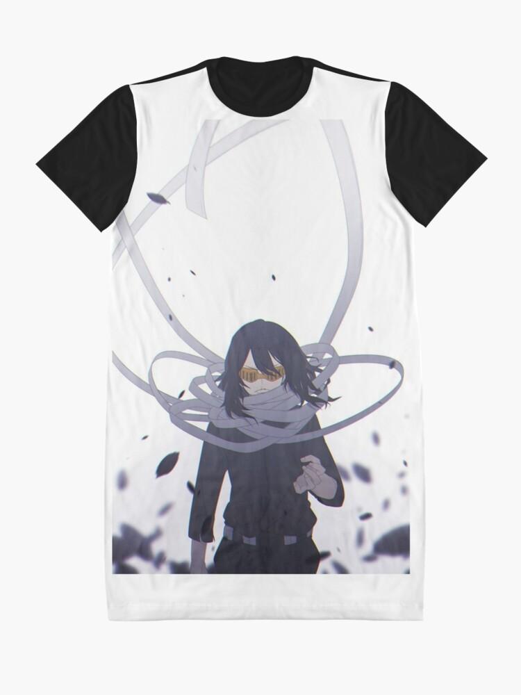 Alternative Ansicht von Shota Aizawa   Mein Held Academia T-Shirt Kleid