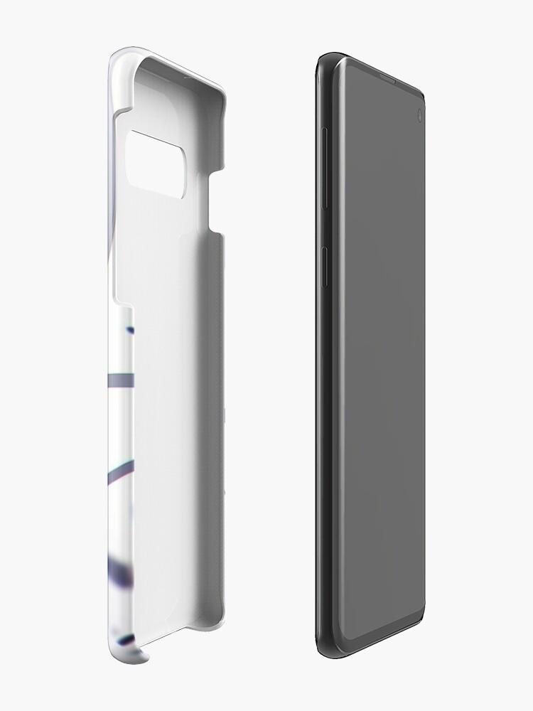 Alternative Ansicht von Shota Aizawa | Mein Held Academia Hülle & Klebefolie für Samsung Galaxy