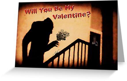 Will You Be My Valentine? by GothCardz