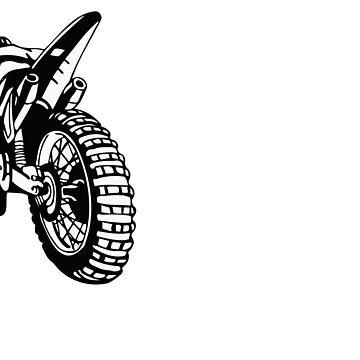 Cool Dirt Bike, Braaap!!! by lolotees