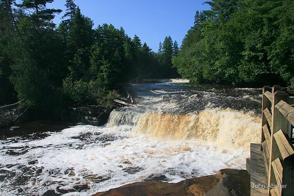 Tahquamenon Falls 4 by John Absher