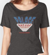 Palace Arcade Tribute Distressed - Stranger Things 2 Women's Relaxed Fit T-Shirt