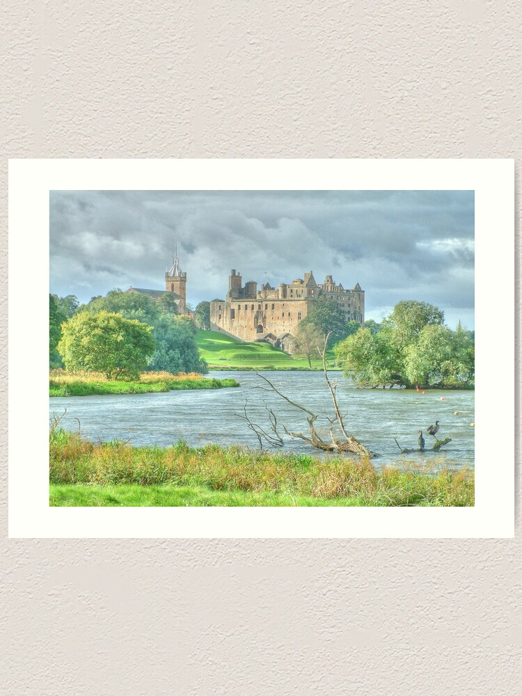 Alternate view of Linlithgow Palace HDR ( Wentworth Prison in Outlander TV series )  Art Print