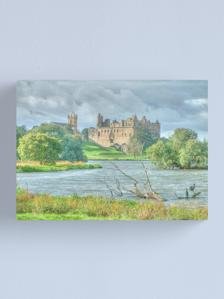 Alternate view of Linlithgow Palace HDR ( Wentworth Prison in Outlander TV series )  Canvas Print
