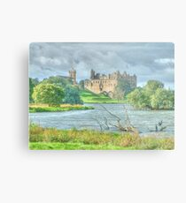 Linlithgow Palace HDR ( Wentworth Prison in Outlander TV series )  Metal Print