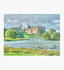 Linlithgow Palace HDR ( Wentworth Prison in Outlander TV series )  Photographic Print
