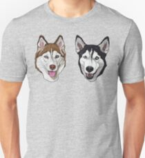 huskies Unisex T-Shirt