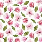 Blühende Magnolie von Mesori