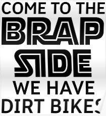 Dirt Bike Rider Poster