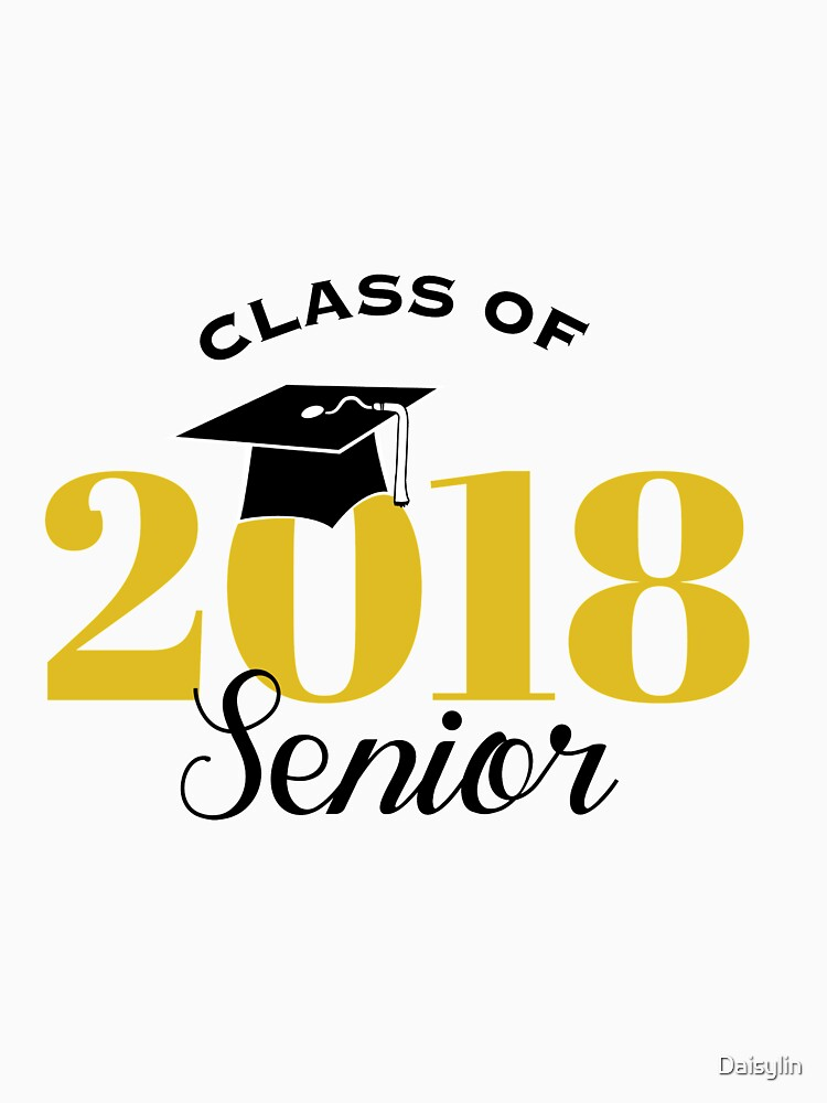 Image result for seniors 2018 black and gold