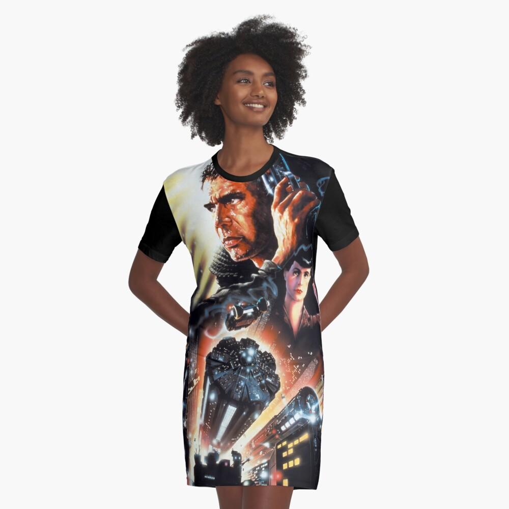 BLADE RUNNER Graphic T-Shirt Dress