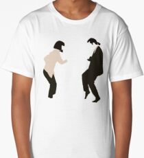 Mia and Vincent  - Pulp Fiction - top selling Long T-Shirt